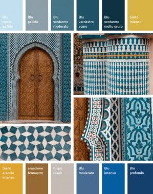 Morocco: Cobalt Blue