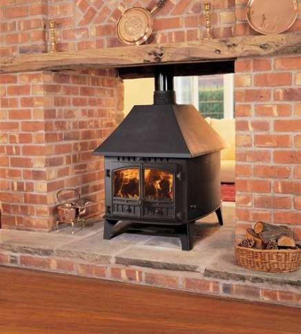 New Wood Burning Stove Farmhouse Home Ideas
