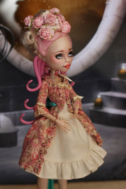My handmade clothing for Monster High Dolls