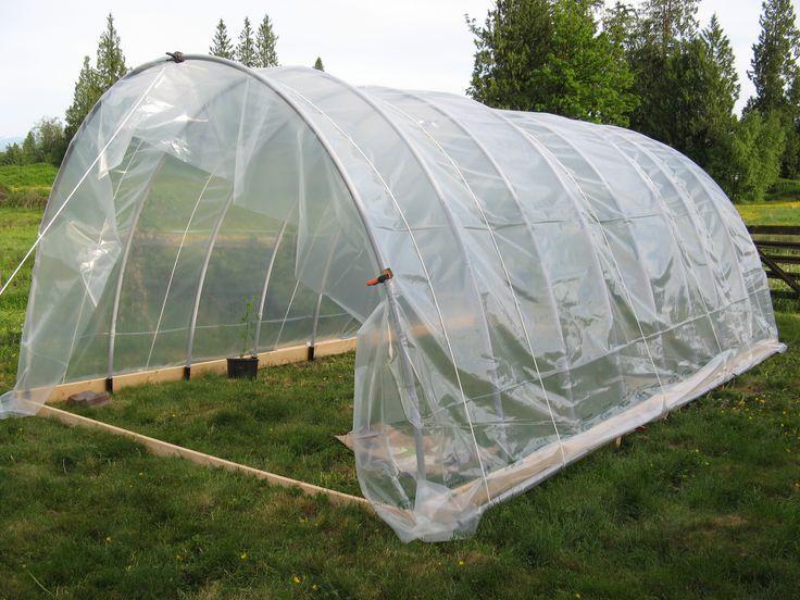 Hoop House Garden Tent Home Garden Planting