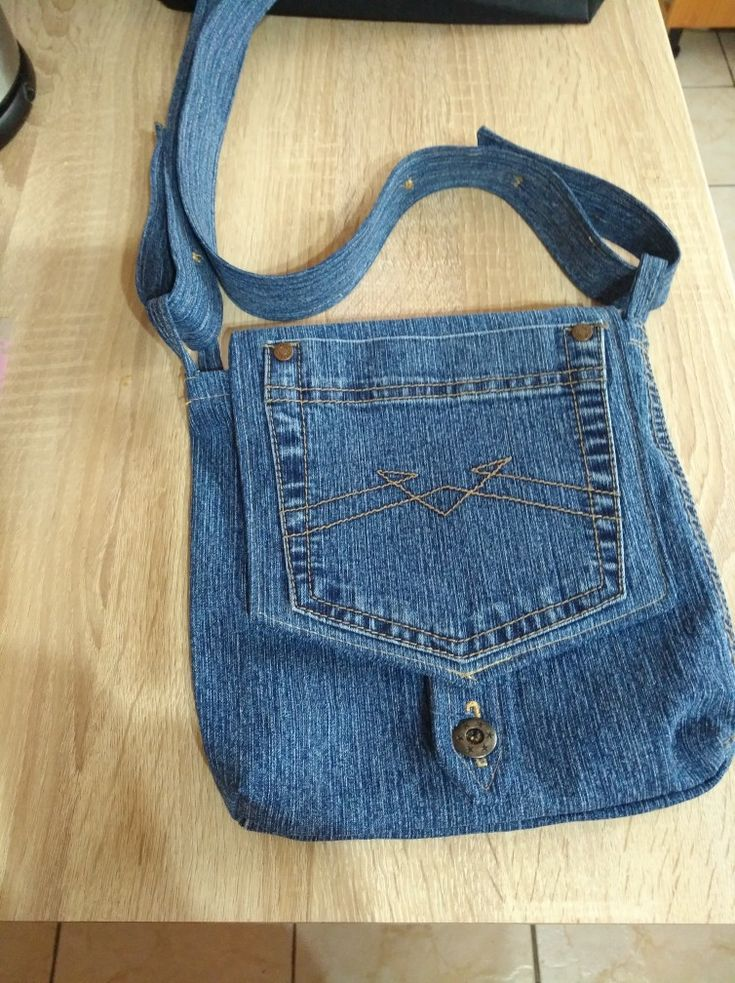 📌 Tasche aus alter Jeans- 📌 Tasche aus alter Jeans 📌 Tasche aus alter Jeans