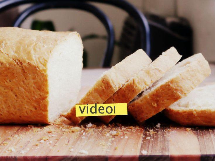 receta de pan lactal casero