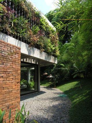 A house by Adi Purnomo of Mamo Studio.