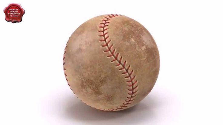 3d model of Baseball by 3d_molier International
