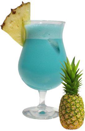 4 cl Wodka  2 cl Blue Curaçao  1 cl Citroensap  Fijngestampt IJs  Koolzuurhoudend Water  Meng in een glas de wodka, de blue curaçao en het citroensap. Bedek de bodem van een coupe met fijngestampt ijs en vorm er een bergje mee, waarvan de top uitsteekt en het eiland van de lagune voorstelt. Schenk het mengsel in de coupe. Vul aan met koolzuurhoudend water, roer heel voorzichtig en serveer snel.