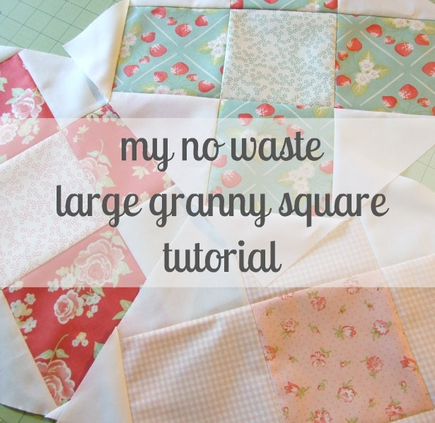 notes of sincerity: another granny square quilt block tutorial. this time only larger. Uses layer cake and charm pack