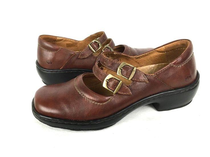 JOSEF SEIBEL Shoes Womens 8 Brown LEATHER Comfort Loafers 39 #JosefSeibel #MaryJanes #WeartoWork
