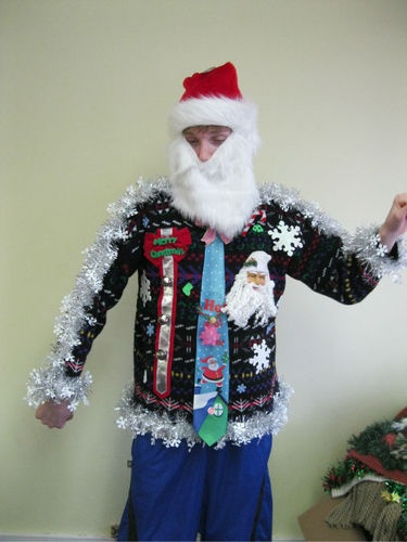Just perfect for the ugly sweater party!!!
