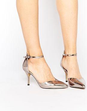Head Over Heels By Dune - Cassim - Chaussures à talons en deux parties - Étain
