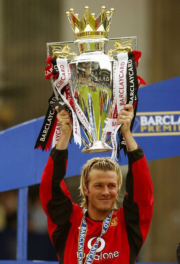 David Beckham played 265 Premier League games for Manchester United and scored 62 goals. He went on to enjoy successful spells at Real Madrid, LA Galaxy, AC Milan and Paris St Germain.