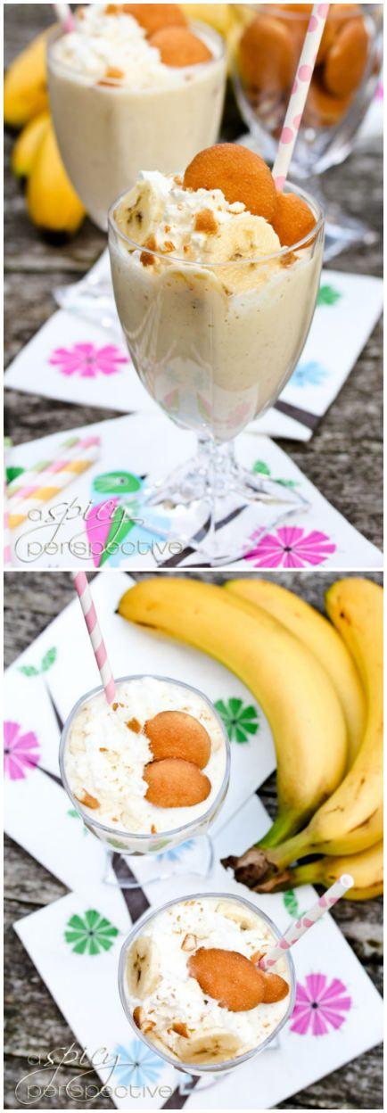 Banana Pudding Milkshake Recipe