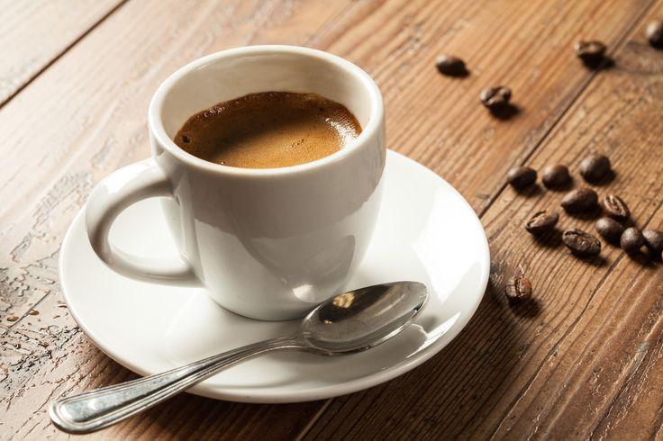 Bir shot espresso