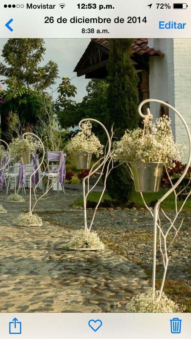 Arreglos florales para capilla
