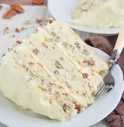New Cake Recipes: BUTTER PECAN CAKE RECIPE