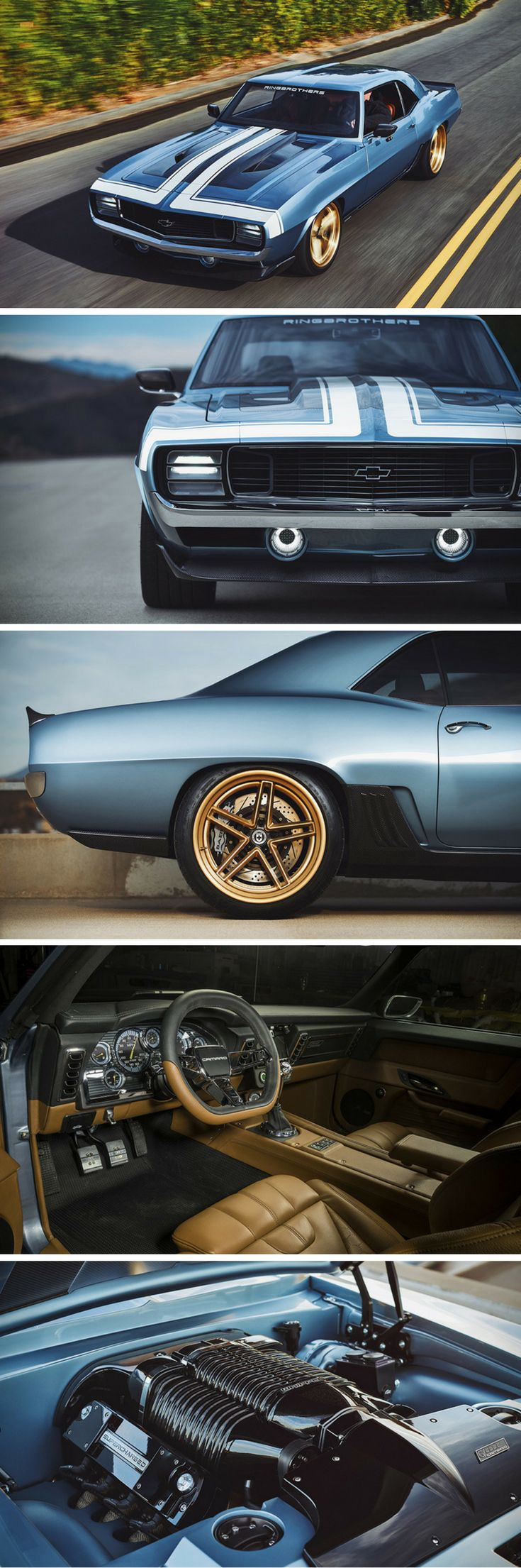 1969 chevrolet camaro G-code custom muscle car by ringbrothers