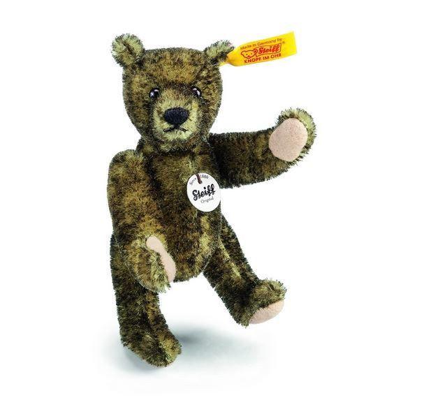 Steiff Teddy Bear Classic Mini Mohair Surface Washable Green-Tipped MIB -040269 #Unbranded