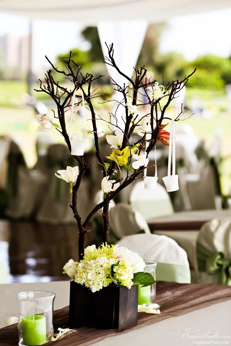 Best large centerpieces images on pinterest