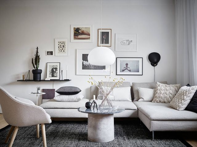 Wonderful use of space in a dreamy Scandinavian apartment
