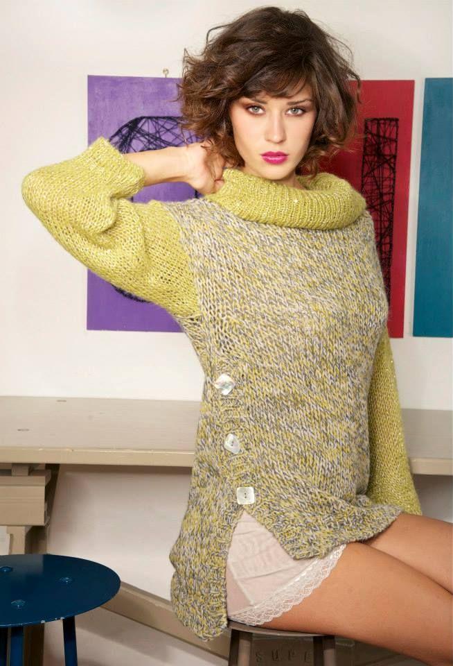 maglia + abito tulle