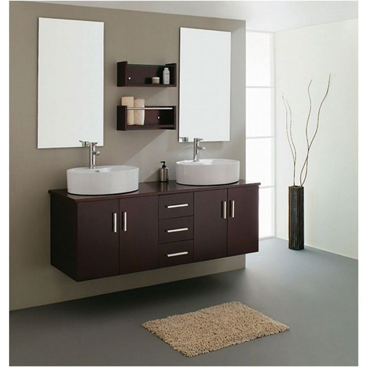 Photo Image Wall tap mounted on full width mirror Will have niche s for lighting above toilet this is by Boscolo Ltd UK