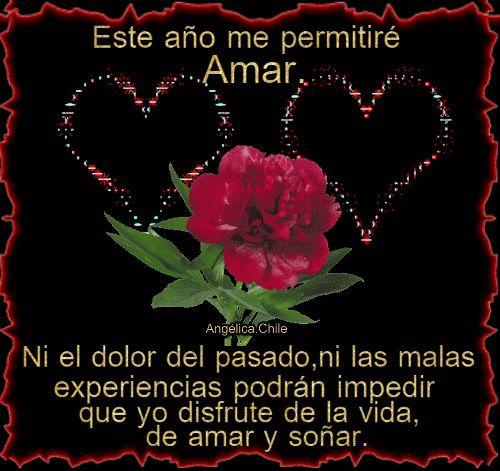 SUEÑOS DE AMOR Y MAGIA: Este año me permitiré Amar.