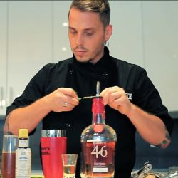 Pastry making, photography, painting, cooking… Louis Turmel's interests are quite diverse, to say the least. One of his biggest passions, however, is mixology.