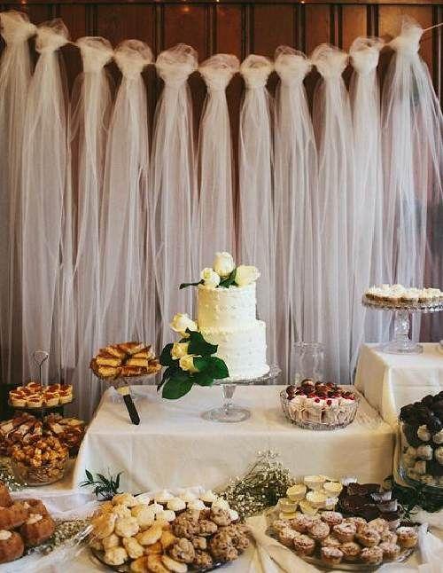 Imagen: mesa de dulces.