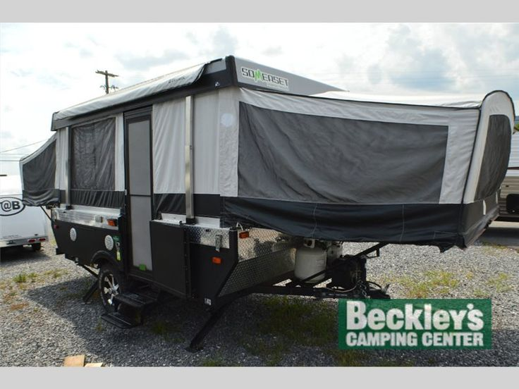 Used 2013 Columbia Northwest Somerset Camping Trailers E2 Folding Pop-Up Camper…