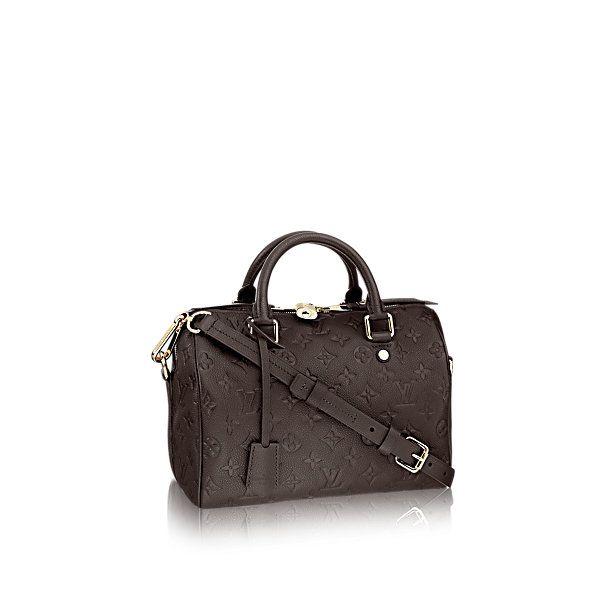 Speedy Bandoulière 25 - Monogram Empreinte - Handbags | LOUIS VUITTON