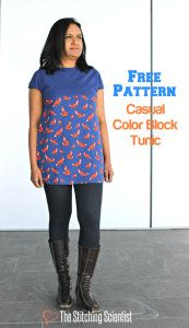 Free Sewing Patterns from The Stitching Scientist