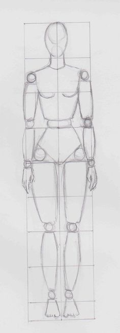 grille #mannequin femme - labo-d.com - ©Doc.D