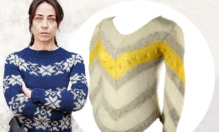 They'll make a Killing: Scandinavian knitwear company releases two 300euro jumper designs worn by unlikely style icon Sarah Lund in the cult detective drama