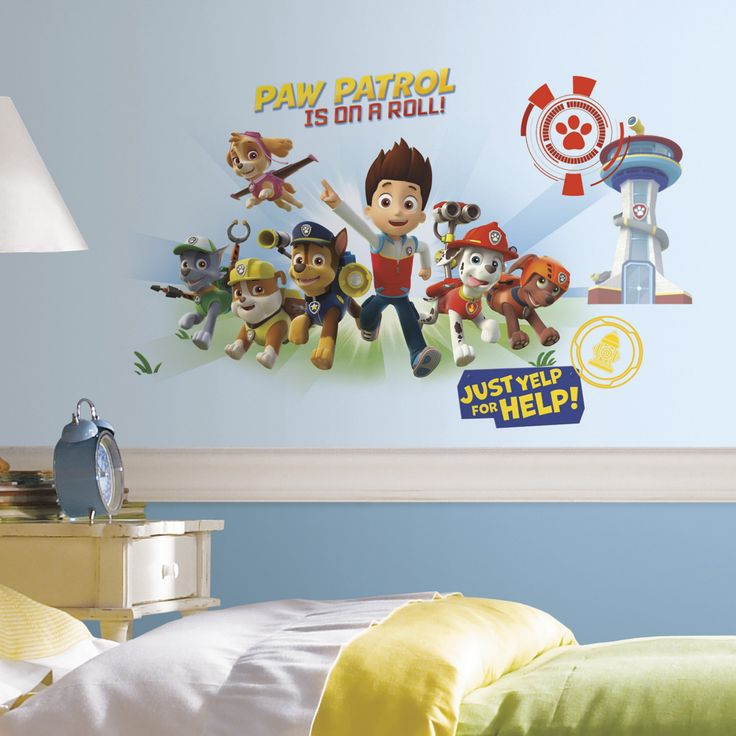 Nickelodeon Paw Patrol Wall Graphix Peel and Stick Giant Wall Decals - RMK2641GM