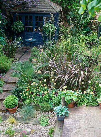 Urban Backyard Ideas : Small urban garden  Design Wayne Page & Michael Anderson Green with