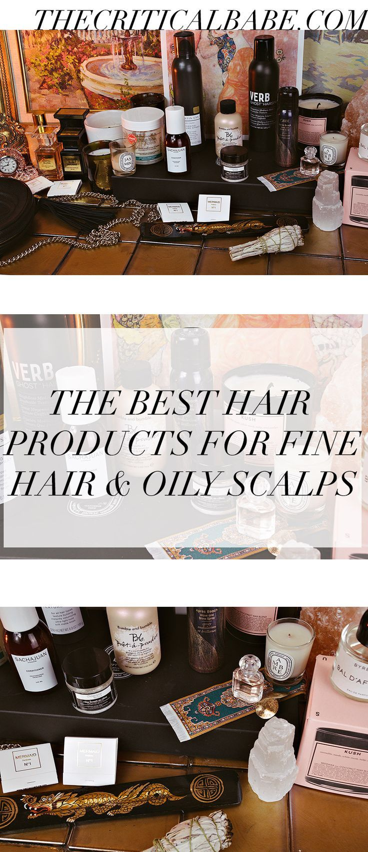 If you have an oily scalp, fine hair, or both, you know the struggle to keep your hair looking good without constantly washing it. I've tried every hair product under the sun and have some amazing recommendations for treating oily scalp and volumizing fine hair.#haircare#finehair#DIYhair#hairstyle#hairgoals