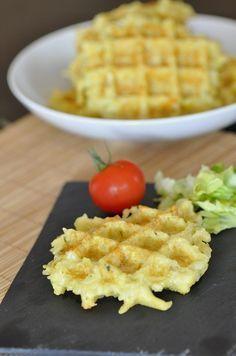 Gaufres de pommes de terre au thermomix (ou pas) - Blog cuisine avec du chocolat…