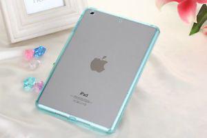 Ultra Thin Hybrid Soft TPU+Acrylic Clear Case Cover For iPad 2 3 4 Air iPad Mini