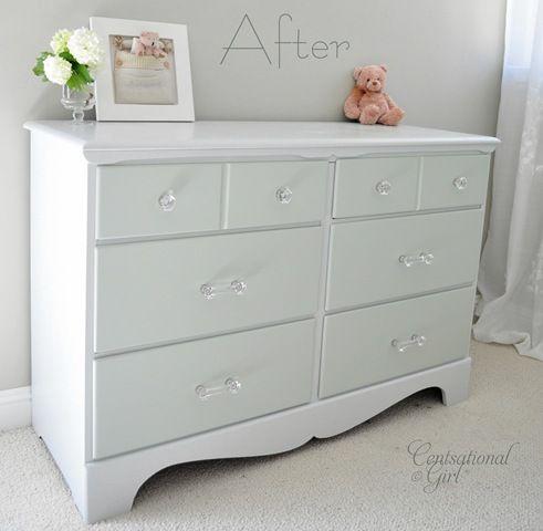 dresser repainted