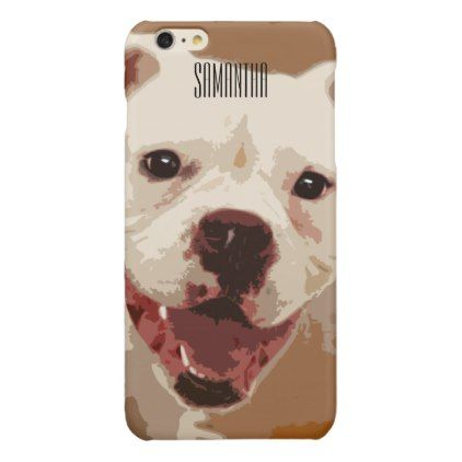 #White Boxer Dog Iphone 6/6s case - #boxer #puppy #boxers #dog #dogs #pet #pets #cute