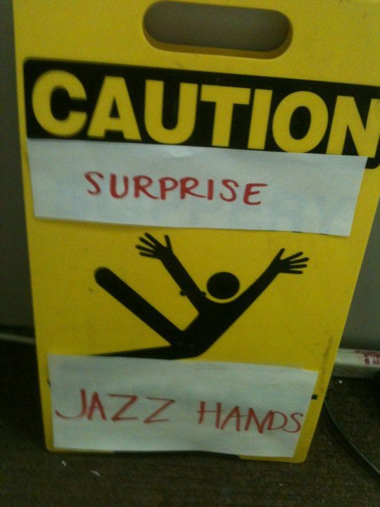 .: Laughing, Jazzhand, Jazz Hands, Hilary, Humor, Spirit Finger, Things, Funnies Stuff, Funnies Signs