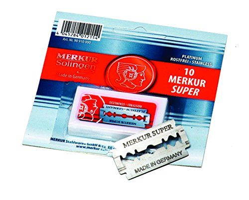 Merkur Super Platinum 3 Pack 10 Blades for All Standard Double Edge Safety Razors, 0.15 lb.. For product & price info go to:  https://beautyworld.today/products/merkur-super-platinum-3-pack-10-blades-for-all-standard-double-edge-safety-razors-0-15-lb/
