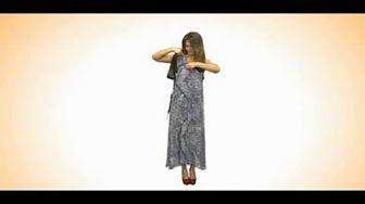 076 - Ольга Никишичева. Модный сарафан - YouTube