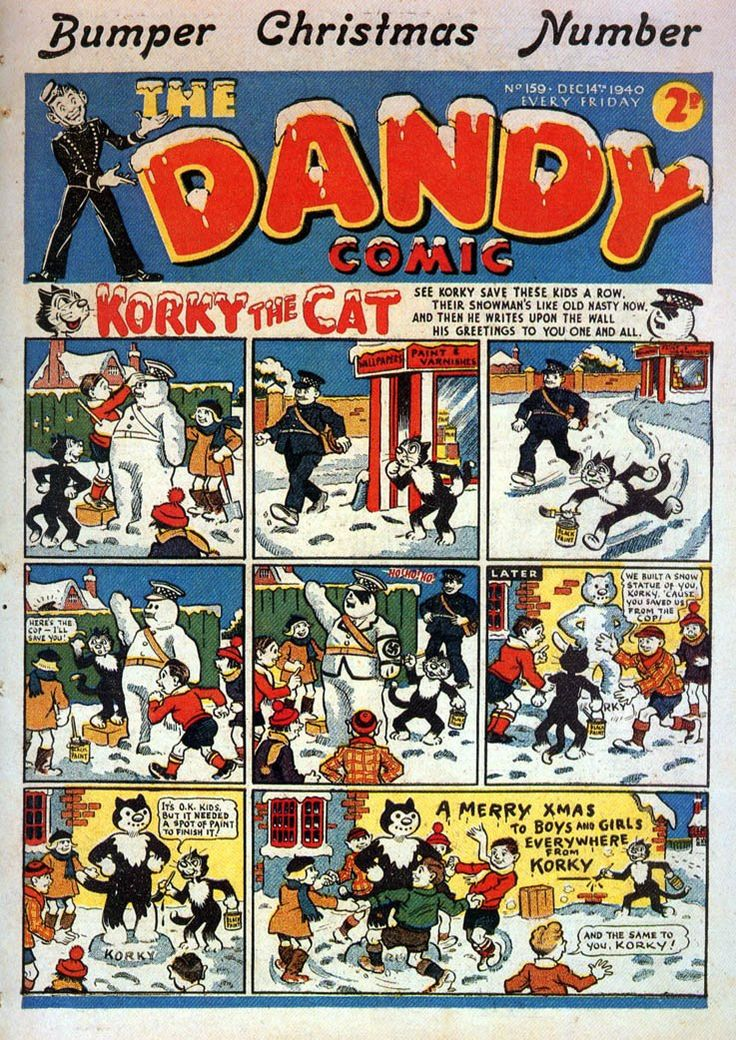 The Dandy No.159 - 14th December 1940