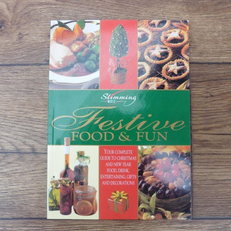 SLIMMING WORLD FESTIVE FOOD & FUN - COOKERY BOOK COOK BOOK DIET RECIPE BOOK | eBay
