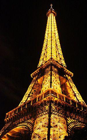 golden eiffel tower paris france paris pinterest. Black Bedroom Furniture Sets. Home Design Ideas