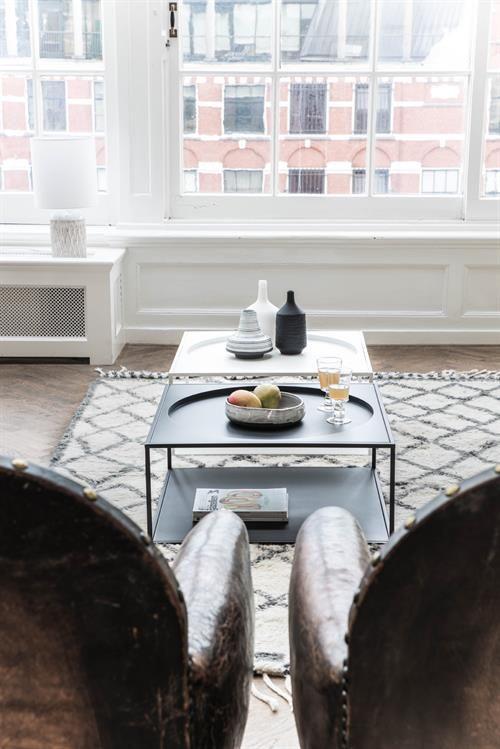 Koffie tafel mat zwart | Rachmaninoff Wonen