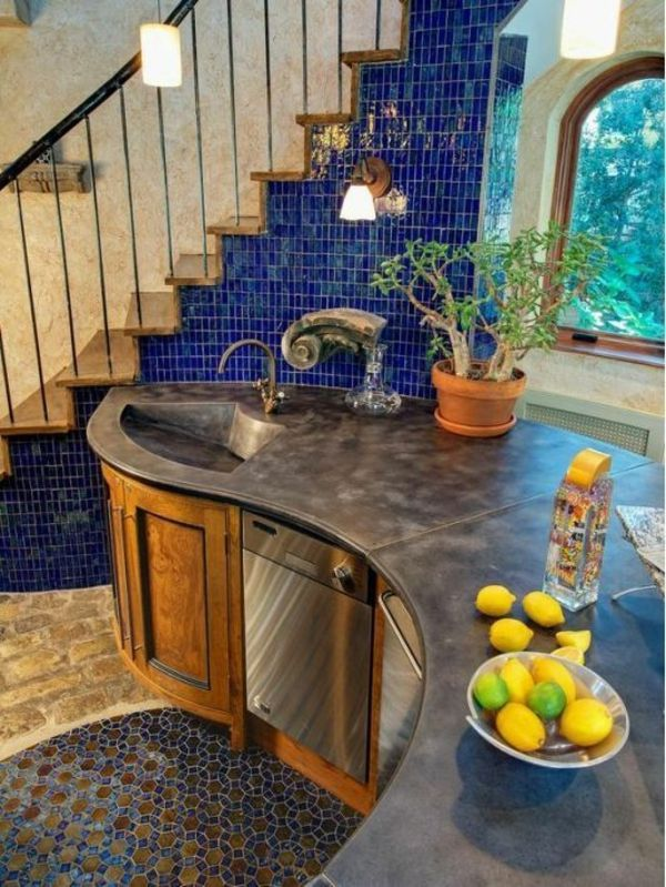 kreative ideen moderne waschbecken küchenspülbecken