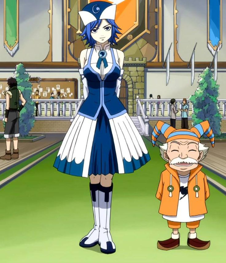 Juvia joins Fairy Tail! What a wonderful member added to the guild. ^-^ - Fairy Tail