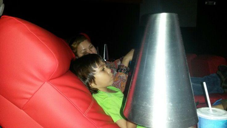 Así o más cómodo en  cine