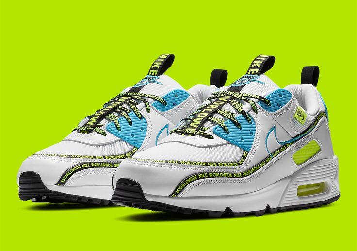 Nike Air Max 90 Worldwide CZ6419-100 | SneakerNews.com | Nike air ...